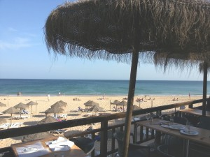 Salema beach bar
